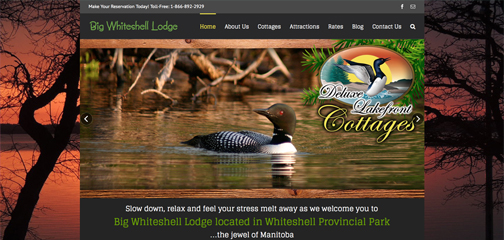Designs that fly Big Whiteshell Lodge
