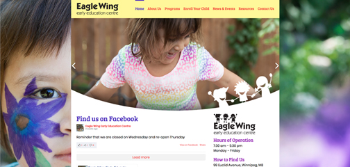 Designs that fly Eagle Wing Early Education Centre