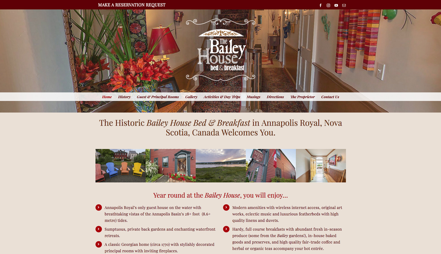 Designs that fly The Bailey House