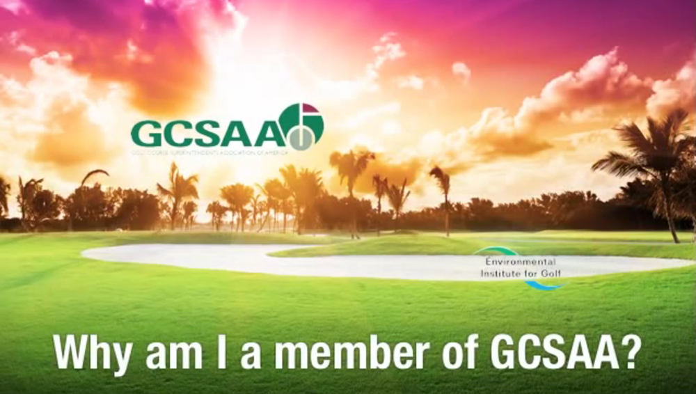 Designs that fly Golf Club Superintendents Association of America Membership Video