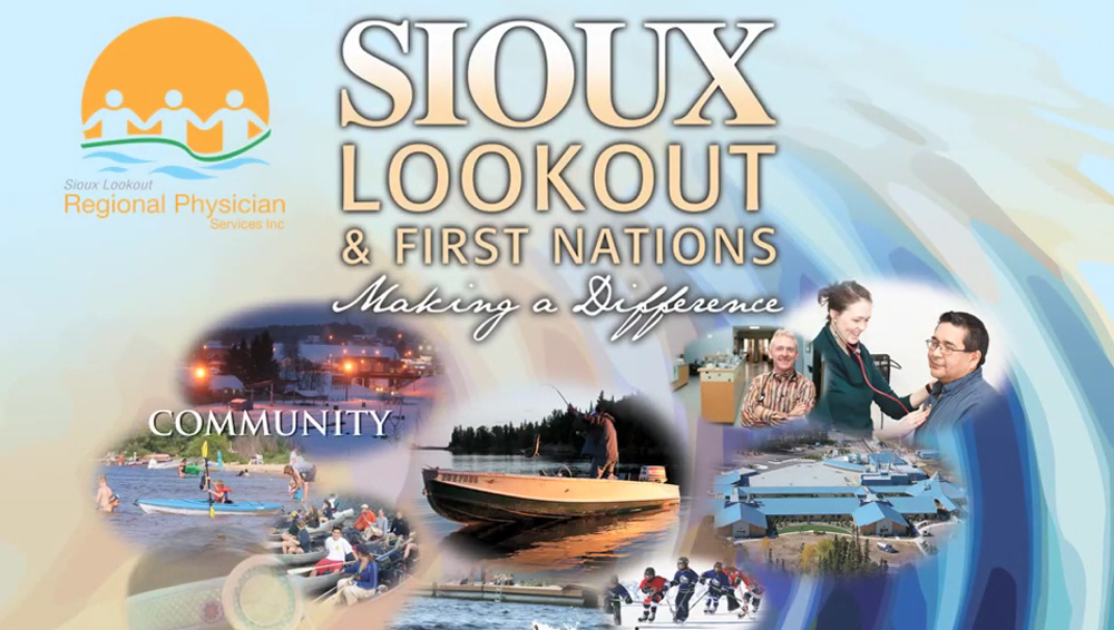 Designs that fly Sioux Lookout Regional Physician Services Inc Recruitment Video