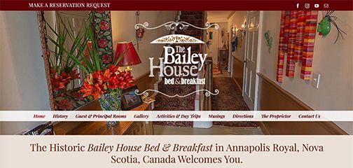 Designs that fly Bailey House Bed and Breakfast