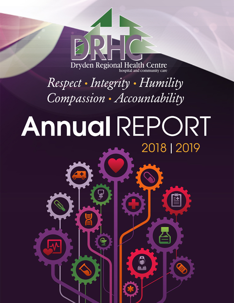 Designs that fly Dryden Regional Health Centre Annual Report 2018-19